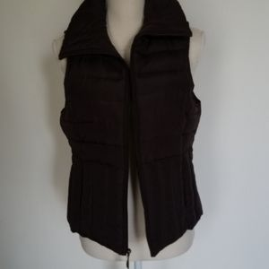 Down & feather filled vest size M by Kenneth Col